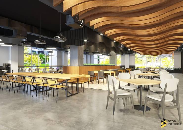 ผลงานการออกแบบ โรงอาหาร การไฟฟ้า จังหวัดอุดรธานี ค่ะ:  ตกแต่งภายใน โดย Bcon Interior,