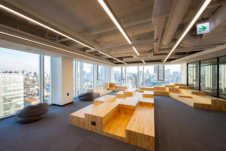 반포동 E 사무실 인테리어 리모델링: studio FOAM의  사무실,