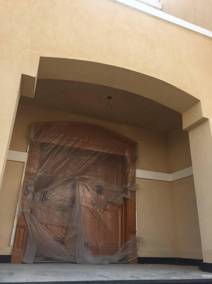 المدخل :  الممر والمدخل تنفيذ smarthome,