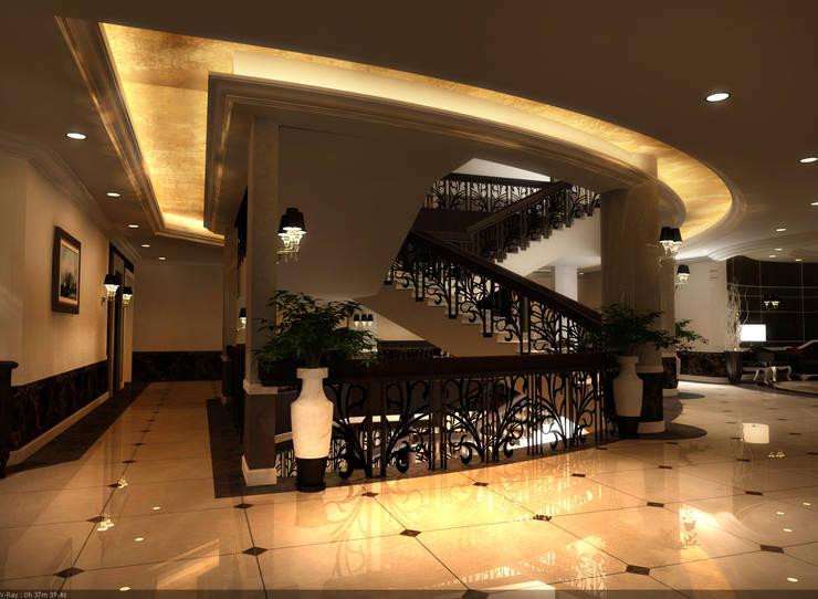 stairs: حديث  تنفيذ smarthome, حداثي