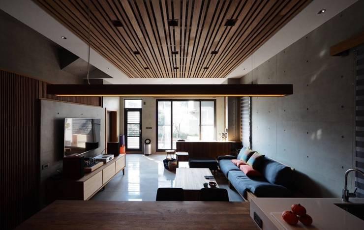 Salas / recibidores de estilo  por 全天候氣密窗, Minimalista