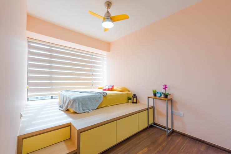 Master Bedroom Scandinavian style bedroom by DAP Atelier Scandinavian Plywood