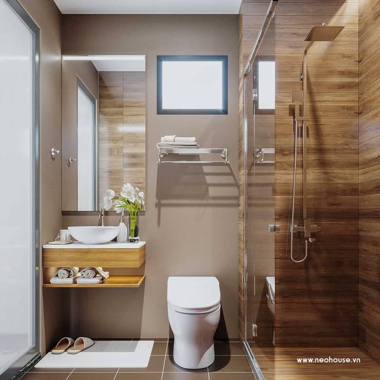 Mẫu thiết kế nội thất nhà phố hiện đại cao cấp 2019:  Bathroom by NEOHouse,