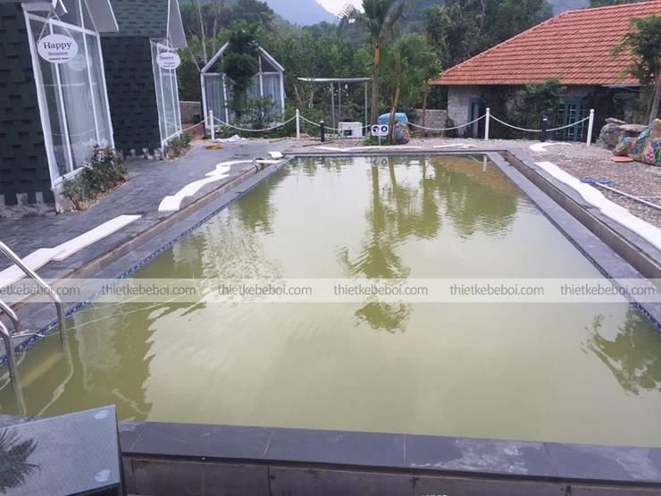 Bể bơi gia đình Anh Công - Resort Ninh Bình:  Bể bơi by Ninh Bư,