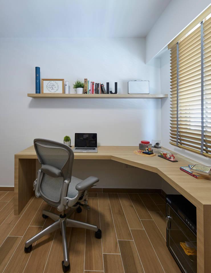 Telok Blangah—4RM HDB BTO Scandinavian style study/office by The Interior Lab Scandinavian