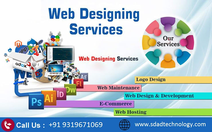 SDAD Technology- Best Web Designing Company in Noida:   by SDAD Technology,