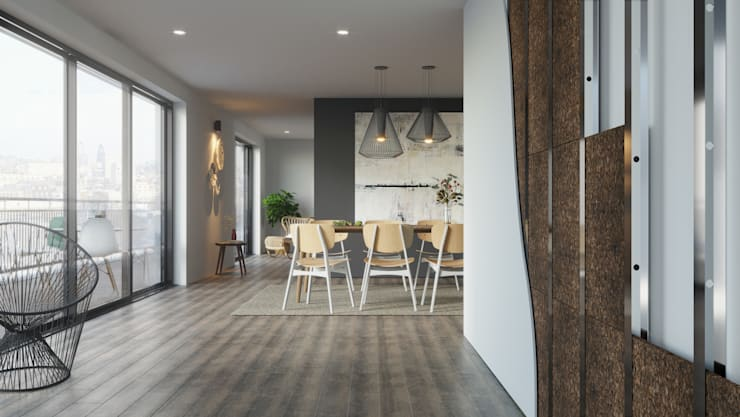 Dining room by Go4cork,