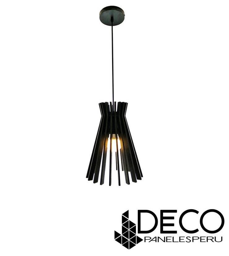 Luminaria : Paisajismo de interiores de estilo  por DecoPaneles Peru,
