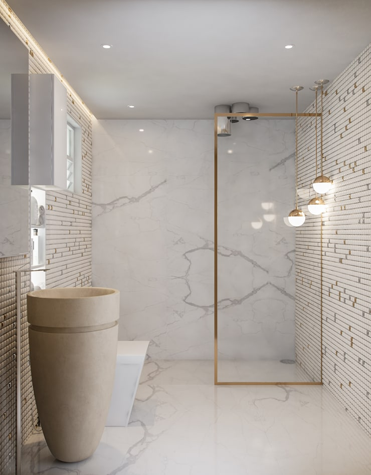 Bathroom by De Panache  - Interior Architects,