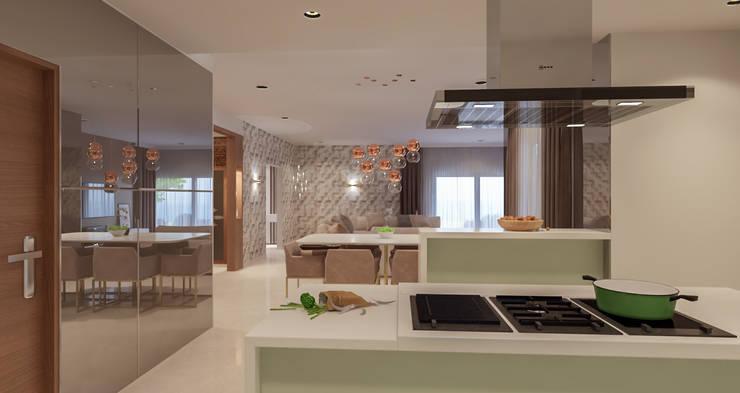 Kitchen by De Panache  - Interior Architects,