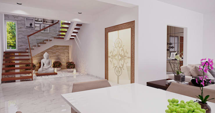 Stairs by De Panache  - Interior Architects,