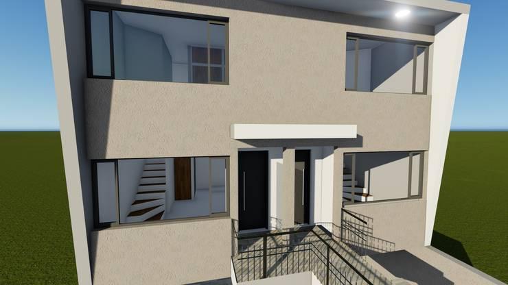 Houses by ebconstrucciones, Modern
