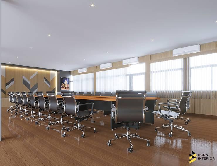 ผลงานการออกแบบ ห้องประชุม กรมชลประทานที่ 5 จังหวัดอุดรธานี ค่ะ:  ตกแต่งภายใน โดย Bcon Interior,