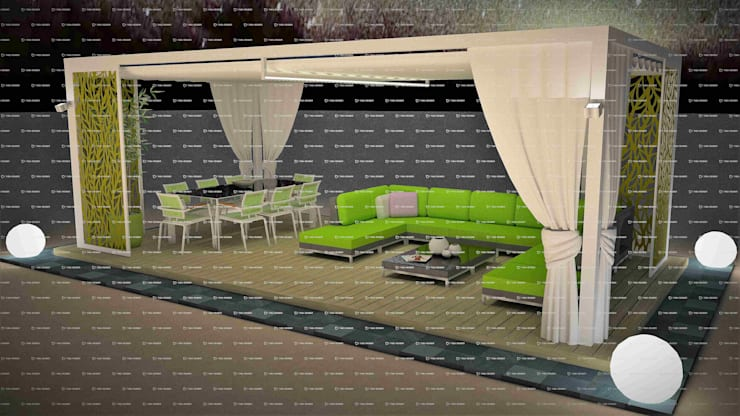 Design 1:  Patios by Outdoor Genie,