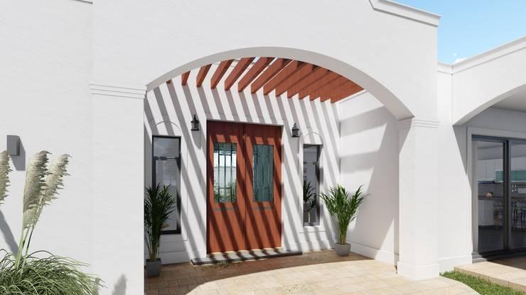 走廊 & 玄關 by ARBOL Arquitectos , 殖民地風