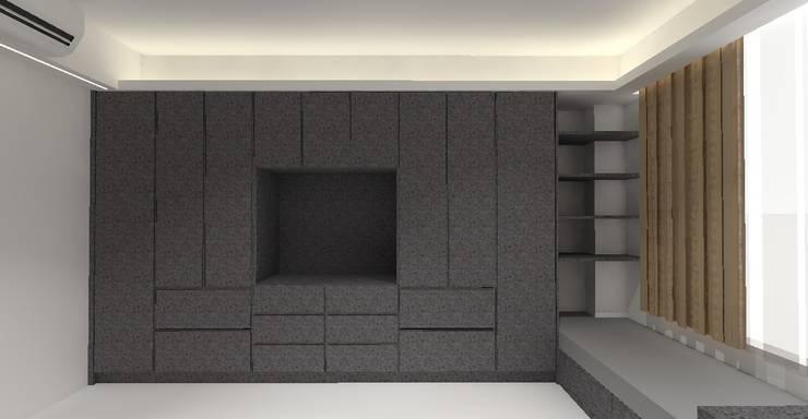 3D設計圖-3F主臥(2):   by 圓方空間設計,