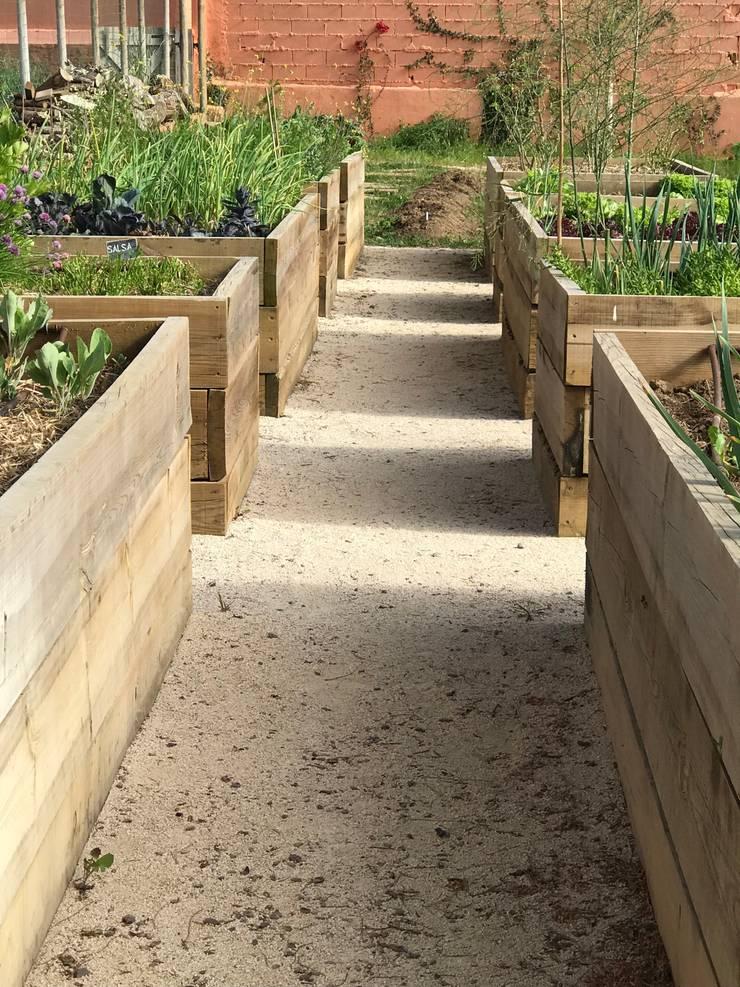 Horta elevada: Jardins  por Maria Mayer | Interior & Landscape Design,