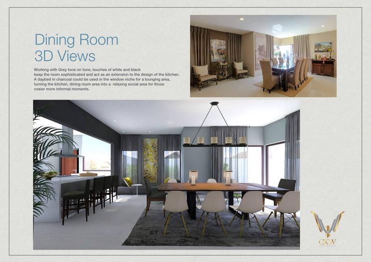 Villa Refurbishment in Bedfordview :   by CKW Lifestyle Associates PTY Ltd,