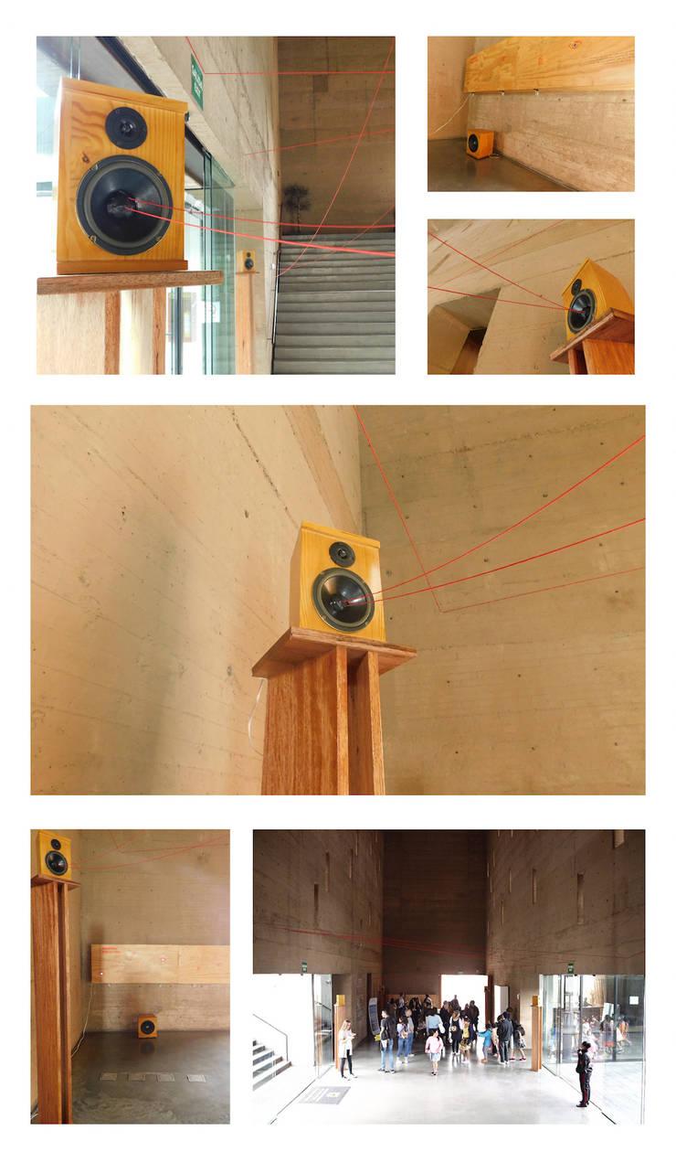 LATIDOS – Arte sonoro en el Centro de Memoria: Museos de estilo  por D-fi Sound,
