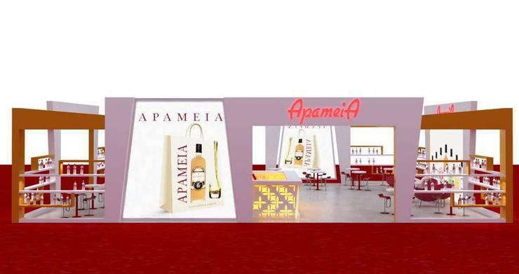 Pusat Eksibisi oleh KALYA İÇ MİMARLIK \ KALYA INTERIOR DESIGN, Modern Kayu Wood effect