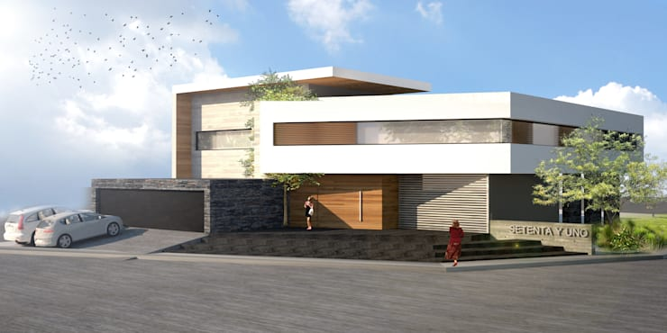 Single family home by aaestudio,
