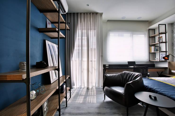 向你說早安:  臥室 by 安提阿設計有限公司,