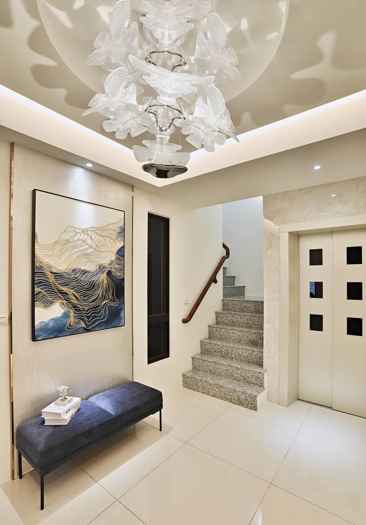 美麗新世界:  樓梯 by 安提阿設計有限公司,