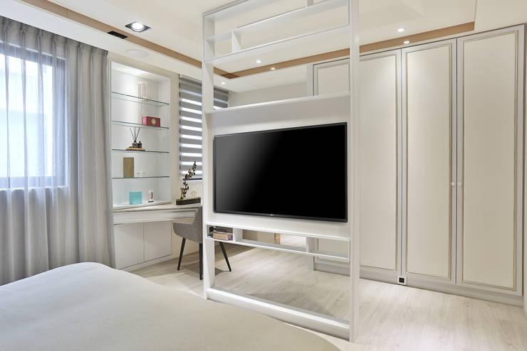 美麗新世界:  臥室 by 安提阿設計有限公司,