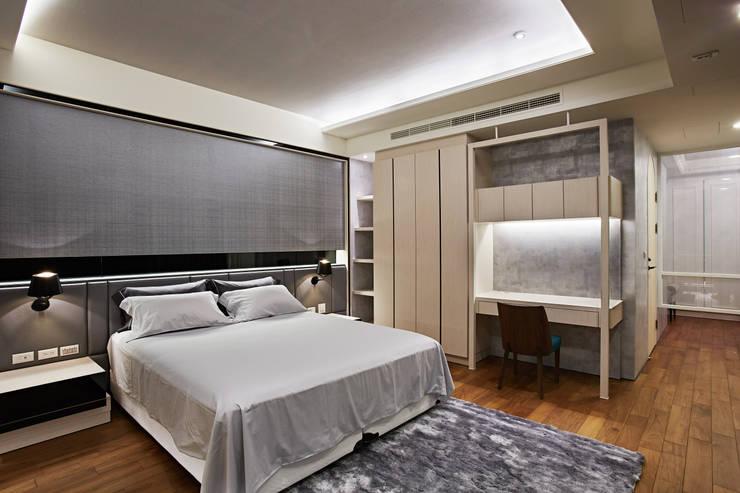 TL宅:  臥室 by 瑞嗎空間設計,