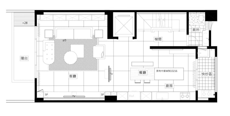 TL宅:   by 瑞嗎空間設計,
