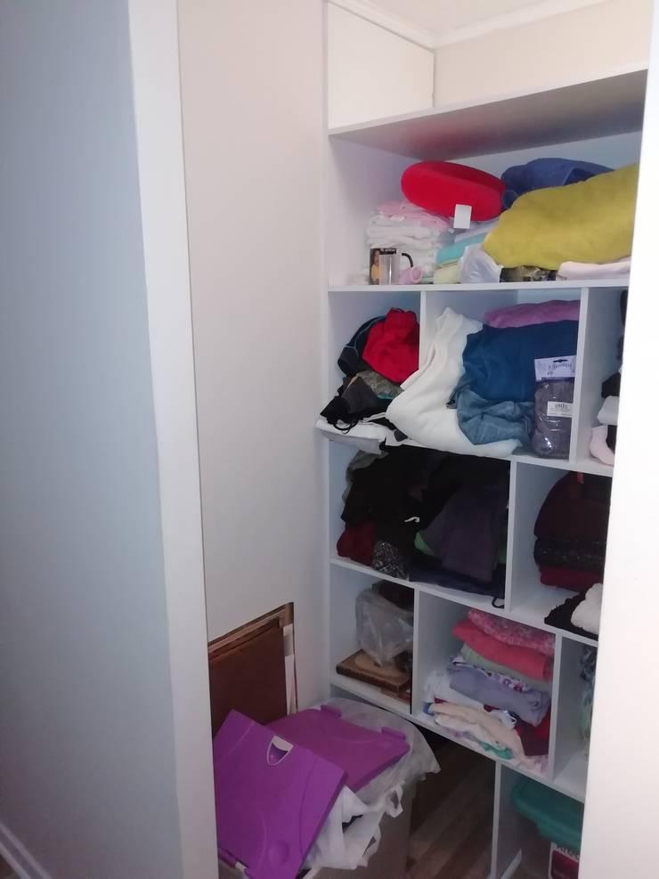 Pequeño grande walking closet :  de estilo  por svielmae,
