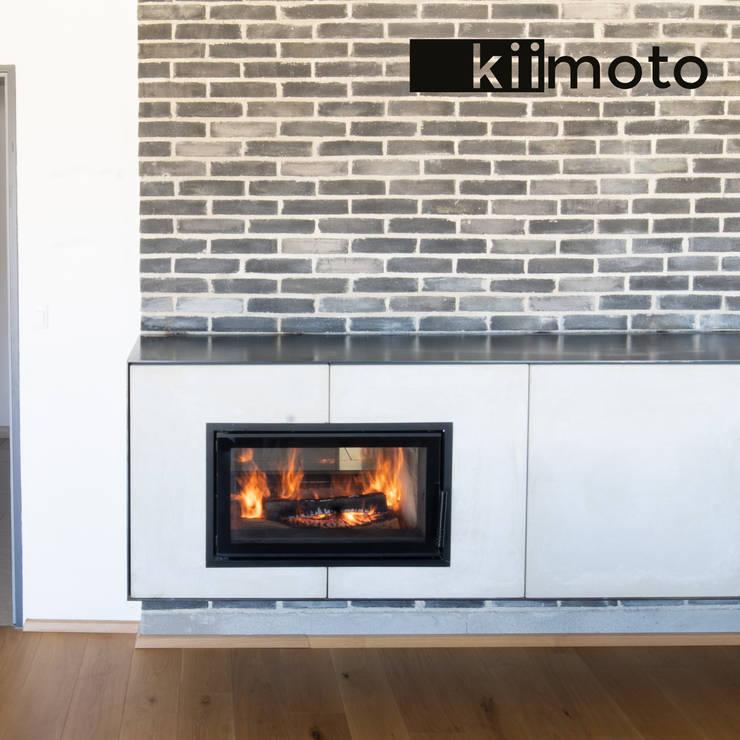 de estilo  de kiimoto kamine, Minimalista Piedra