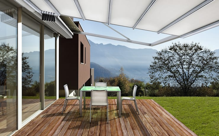飯店 by Parasoles Tropicales - Arquitectura Exterior, 現代風 鋁箔/鋅