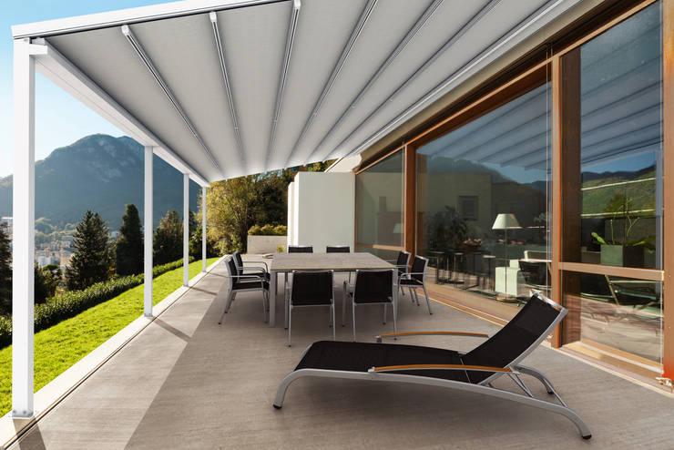 商業空間 by Parasoles Tropicales - Arquitectura Exterior, 現代風 鋁箔/鋅