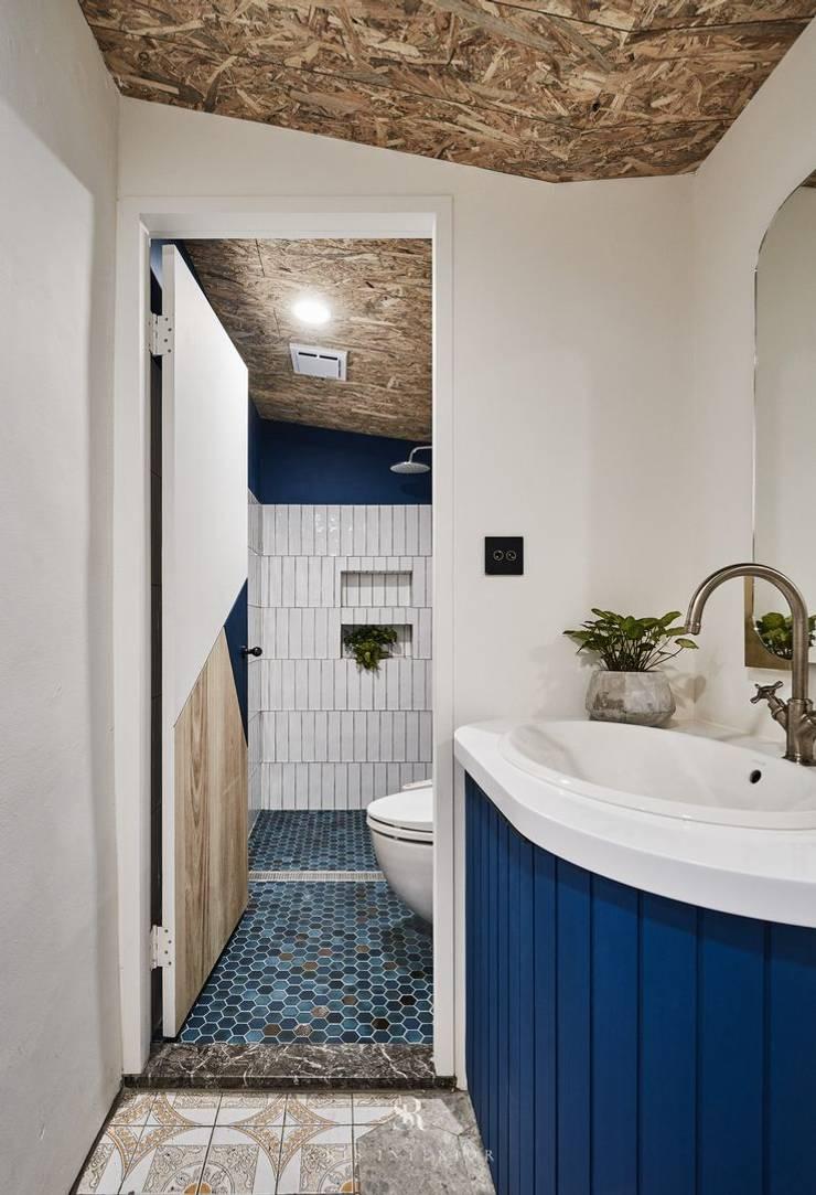 理絲室內設計|Ris Interior Design Workspace:  浴室 by 理絲室內設計有限公司 Ris Interior Design Co., Ltd.,