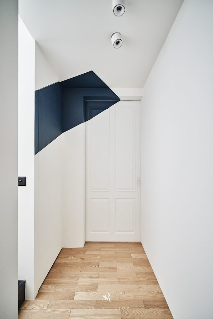理絲室內設計|Ris Interior Design Workspace:  牆面 by 理絲室內設計有限公司 Ris Interior Design Co., Ltd.,