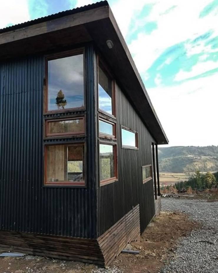 Casa Las Yuntas de Buchupureo : Casas unifamiliares de estilo  por MMS Arquitectos,
