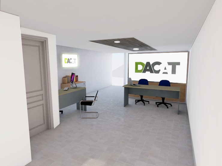 Study/office by DACAT, Modern