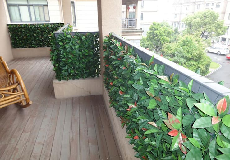 Fake Hedges for Balcony Privacy :  Balconies, verandas & terraces  by Ulandhedge,