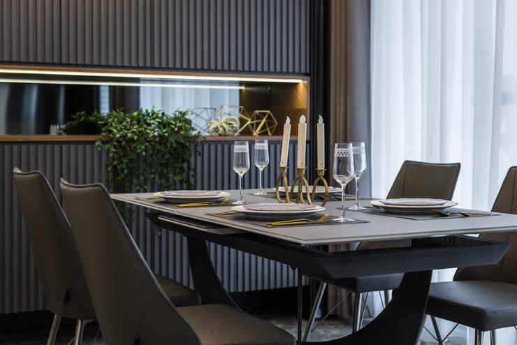 餐桌:  小廚房 by 你你空間設計,