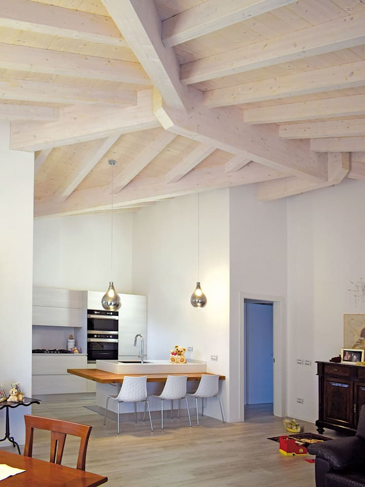 Kitchen by Marlegno, Classic Wood Wood effect