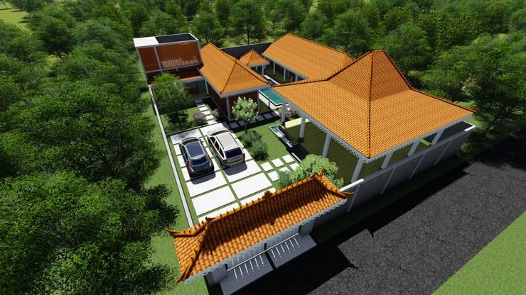 Rumah joglo: Rumah oleh Chans Architect,