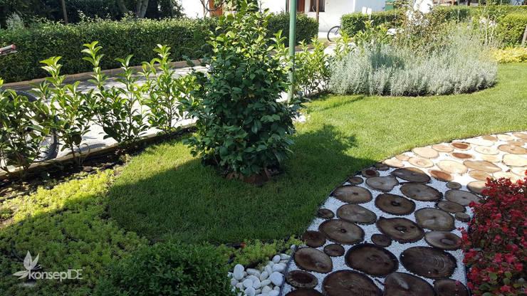konseptDE Peyzaj Fidancılık Tic. Ltd. Şti. – B.Ö ÖZEL KONUT Peyzaj Projelendirme & Uygulama:  tarz Bahçe,