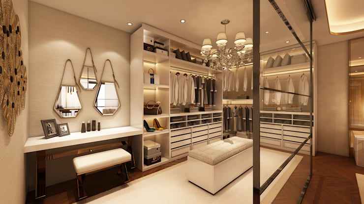 Ruang Ganti oleh Alpha Details, Modern