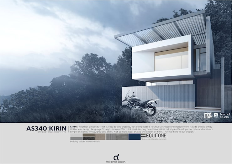AS340 : KIRIN : Standard house :   โดย ARCHSPIRIT GROUP,