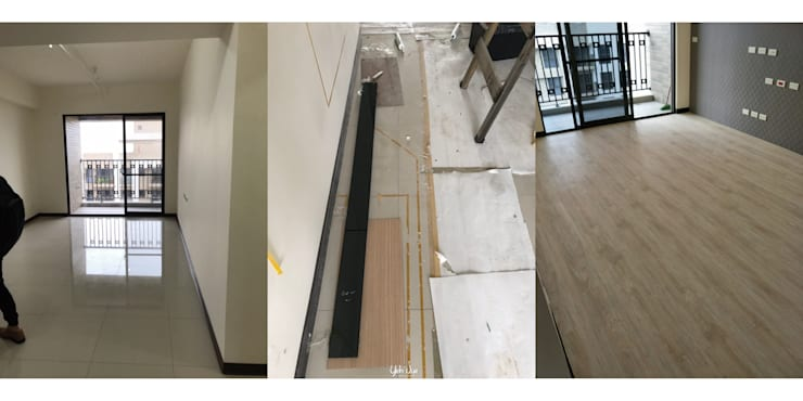 木地板:   by 業傑室內設計,
