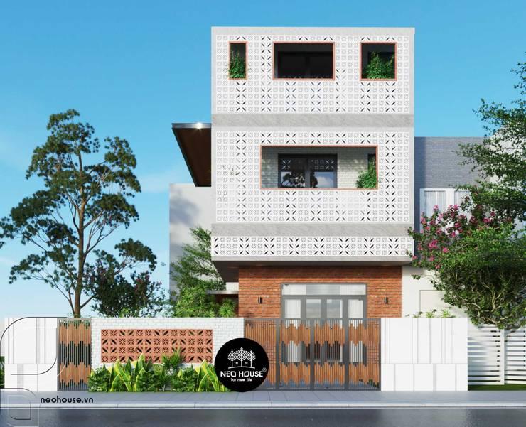 Biệt thự phố 3 tầng hiện đại:   by NEOHouse,