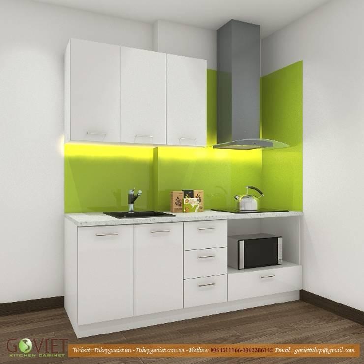 Mẫu tủ bếp đơn giản cho nhà cấp 4:  Tủ bếp by TỦ BẾP GỖ VIỆT,