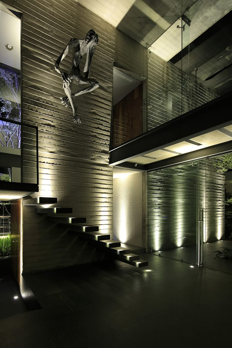 Stairs by Echauri Morales Arquitectos, Modern