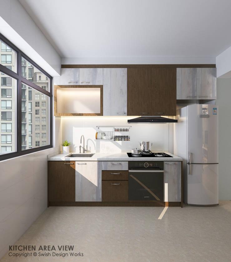 Kitchen by Swish Design Works Modern